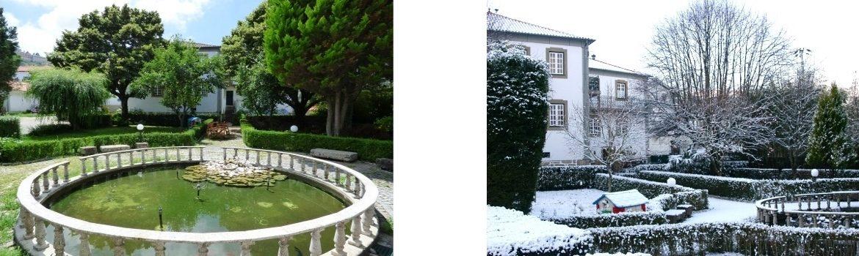 Jardim e Exterior o Solar - Casa das Tilias
